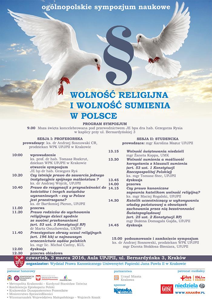 Konferencja - Wolność Religijna